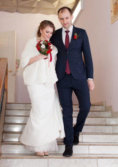 Портрет жениха и невесты работы фотографа Анатолия Тимофеева